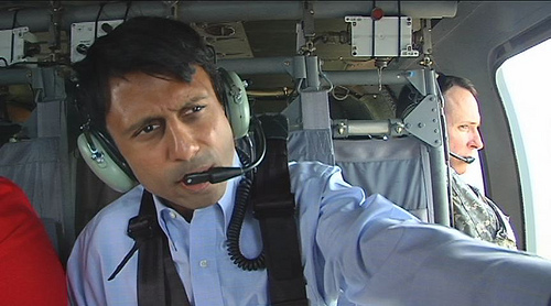 Jindal in the Black Hawk