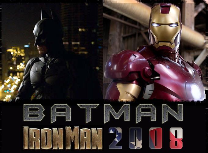 Batman Iron Man 2008